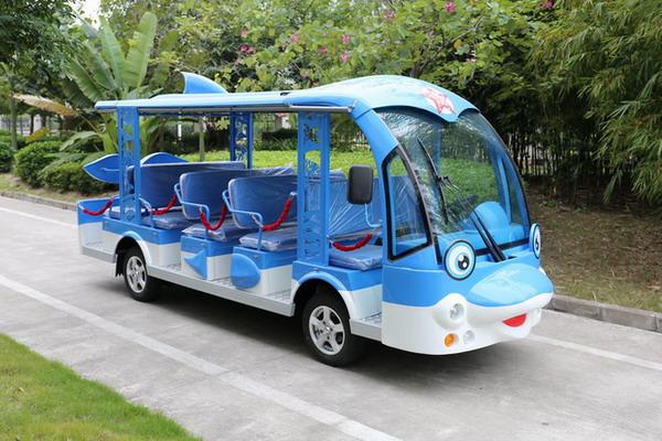 海豚电动观光车